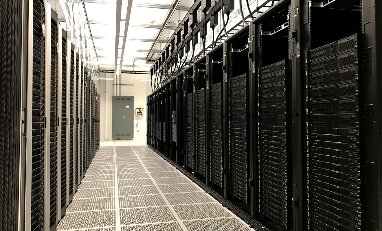 SMU's New Data Center (old on the left and new build-in-progress on the right)